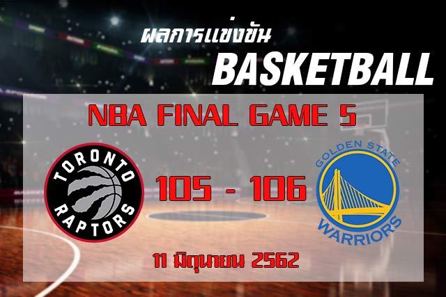 score NBA Final Game5