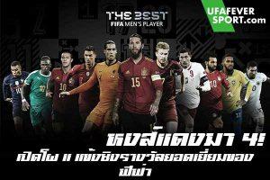 หงส์แดงมา 4! เปิดโผ 11 แข้งชิงรางวัลยอดเยี่ยมของ ฟีฟ่า #ข่าวกีฬา #ข่าวฟุตบอลไทย #วิเคราะห์ฟุตบอล ufafeversport #FIFA #เปิดเผย 11 รายชื่อเข้าชิงรางวัล #The Best FIFA Men's Player Of The Year 2020